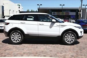 2015 Land Rover Range Rover Evoque L538 MY15 Si4 Pure Tech White 9 Speed Sports Automatic Wagon Osborne Park Stirling Area Preview