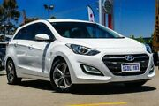 2016 Hyundai i30 GDe4 Series II MY16 Tourer DCT White 7 Speed Sports Automatic Dual Clutch Wagon Midvale Mundaring Area Preview