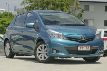 2014 Toyota Yaris NCP131R YRX Blue 4 Speed Automatic Hatchback Kedron Brisbane North East Preview