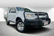 2013 Holden Colorado RG MY13 LX Crew Cab White 5 Speed Manual Cab Chassis Svensson Heights Bundaberg City Preview