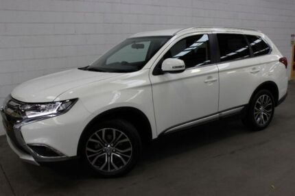 2017 Mitsubishi Outlander ZK MY17 LS 2WD White 6 Speed Constant Variable Wagon Burnie Area Preview