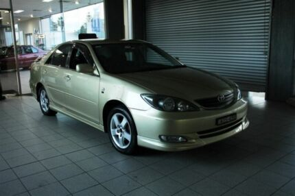2003 Toyota Camry MCV36R Sportivo Gold 5 Speed Manual Sedan Thornleigh Hornsby Area Preview