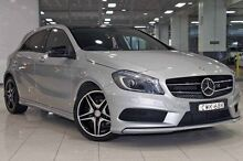 2015 Mercedes-Benz A200 176 MY15 BE Silver 7 Speed Automatic Hatchback Waterloo Inner Sydney Preview
