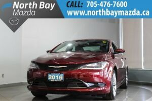 2016 Chrysler 200 S with Leather, Bluetooth, Heated Seats
