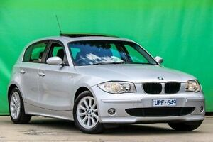 2007 BMW 118i E87 Silver 6 Speed Automatic Hatchback Ringwood East Maroondah Area Preview
