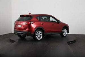 2012 Mazda CX-5 Grand Tourer (4x4) Red 6 Speed Automatic Wagon