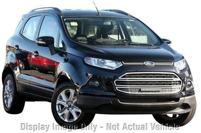 Ford Ecosport 2014 Black 2014 Ford Ecosport bk Trend
