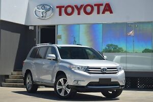 2013 Toyota Kluger GSU40R MY13 Upgrade KX-S (FWD) Silver Pearl 5 Speed Automatic Wagon Old Guildford Fairfield Area Preview
