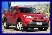 2014 Toyota RAV4 ASA44R MY14 GX AWD Red 6 Speed Sports Automatic Wagon Lilydale Yarra Ranges Preview