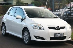 2009 Toyota Corolla ZRE152R Ascent White 6 Speed Manual Hatchback Briar Hill Banyule Area Preview