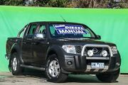 2007 Nissan Navara D40 ST-X Grey 6 Speed Manual Utility Ringwood East Maroondah Area Preview