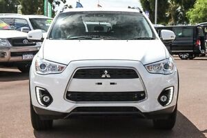 2015 Mitsubishi ASX XB MY15.5 LS 2WD White 6 Speed Constant Variable Wagon Wilson Canning Area Preview