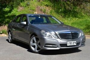2011 Mercedes-Benz E250 W212 MY12 BlueEFFICIENCY 7G-Tronic + Avantgarde Silver 7 Speed St Marys Mitcham Area Preview
