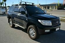 2008 Toyota Landcruiser 200 Series Sahara LUXURY Black Automatic Wagon East Rockingham Rockingham Area Preview