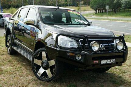 2012 Holden Colorado RG MY13 LTZ Crew Cab Black 5 Speed Manual Utility