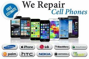 ON SALE SAMSUNG IPHONE IPAD LG SONY HTC BB PHONE SCREEN REPAIR, LCD, CHARGING PORT, BATTERY + MORE