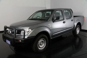 2011 Nissan Navara D40 RX Grey 6 Speed Manual Utility Victoria Park Victoria Park Area Preview