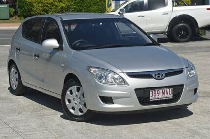 2009 Hyundai i30 FD MY09 SX Continental Silver 4 Speed Automatic Hatchback Southport Gold Coast City Preview