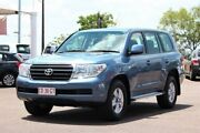 2009 Toyota Landcruiser VDJ200R GXL Blue Storm 6 Speed Automatic Wagon The Gardens Darwin City Preview