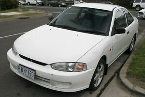 1998 Mitsubishi Lancer CE GLXi White 4 Speed Automatic Coupe Briar Hill Banyule Area Preview