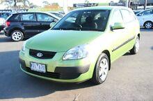 2008 Kia Rio JB MY09 LX Green 5 Speed Manual Hatchback Heatherton Kingston Area Preview