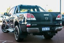 2011 Mazda BT-50 UP0YF1 XTR Freestyle Black 6 Speed Manual Utility Wangara Wanneroo Area Preview