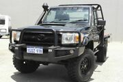 2011 Toyota Landcruiser Workmate Black 5 Speed Manual Utility Beckenham Gosnells Area Preview