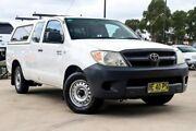 2005 Toyota Hilux GGN15R MY05 SR 4x2 White 5 Speed Automatic Utility Liverpool Liverpool Area Preview
