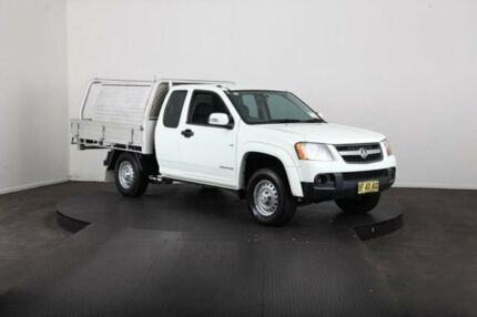 2010 Holden Colorado RC MY10 LX (4x2) White 4 Speed Automatic Space Cab P/Up