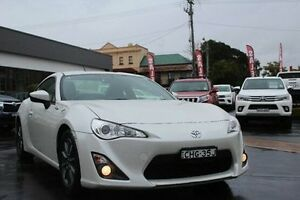 2012 Toyota 86 ZN6 GT White 6 Speed Manual Coupe South Maitland Maitland Area Preview