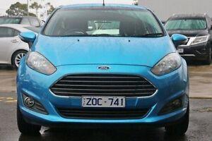 2013 Ford Fiesta WZ Trend Blue 5 Speed Manual Hatchback Ringwood East Maroondah Area Preview