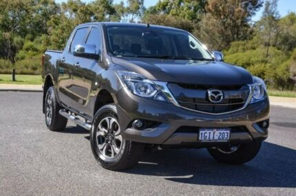 2017 Mazda BT-50 UR0YG1 XTR Bronze 6 Speed Sports Automatic Utility Wilson Canning Area Preview