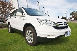 2010 Honda CR-V RE MY2010 Limited Edition 4WD White 5 Speed Automatic Wagon Wangara Wanneroo Area Preview