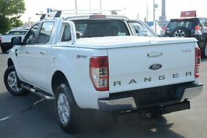 2013 Ford Ranger PX XLT Double Cab 4x2 Hi-Rider White 6 Speed Sports Automatic Utility Acacia Ridge Brisbane South West Preview