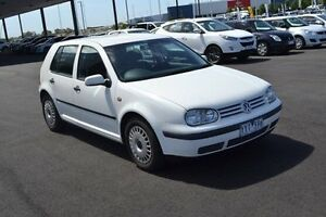 1998 Volkswagen Golf 4TH GEN GL White Automatic Strathmore Heights Moonee Valley Preview