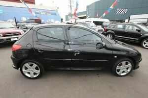 2005 Peugeot 206 T1 MY04 XR Black 4 Speed Sports Automatic Hatchback Kingsville Maribyrnong Area Preview