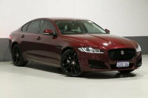 2016 Jaguar XF X260 20d Prestige Red 8 Speed Automatic Sedan