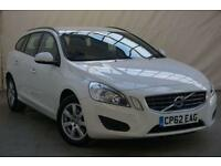 2012 Volvo V60 2.0 D4 ES 5d 161 BHP Diesel white Manual