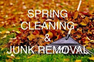 SPRING CLEANING & JUNK REMOVAL