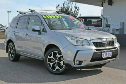 2013 Subaru Forester MY12 XT Premium Silver 4 Speed Auto Elec Sportshift Wagon Rockingham Rockingham Area Preview