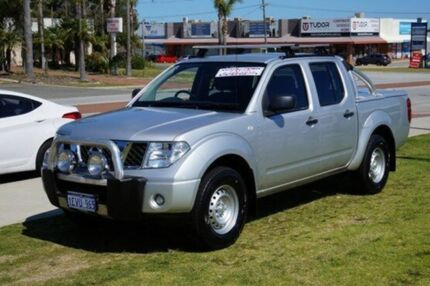 2012 Nissan Navara D40 S6 MY12 RX 4x2 Silver 6 Speed Manual Utility Pearsall Wanneroo Area Preview