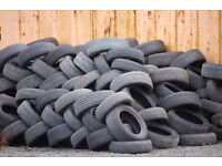 USED TYRES FREE TO UPLIFT FOR PLANT BEDS ETC. CALL ON 079000 95958