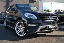 2013 Mercedes-Benz ML350 W166 BlueTEC 7G-Tronic + Black 7 Speed Sports Automatic Wagon Burwood Whitehorse Area Preview