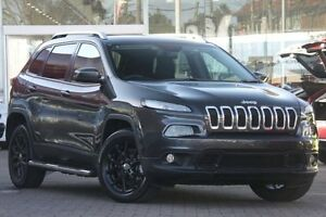 2014 Jeep Cherokee KL Longitude (4x4) Granite 9 Speed Automatic Wagon Waitara Hornsby Area Preview