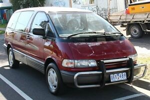 1991 Toyota Tarago GLS (4x4) Maroon 4 Speed Automatic Wagon Briar Hill Banyule Area Preview
