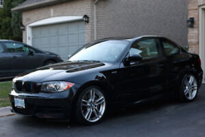 2008 BMW 135i M Package - Black on White Leather (Nav Package)