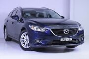 2013 Mazda 6 GJ1031 Touring SKYACTIV-Drive Blue 6 Speed Sports Automatic Wagon Wadalba Wyong Area Preview