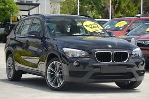 2013 BMW X1 E84 LCI MY0713 sDrive20i Steptronic Black 8 Speed Sports Automatic Wagon Moorooka Brisbane South West Preview