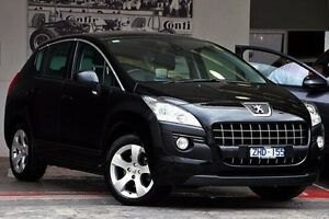 2012 Peugeot 3008 T8 MY12 Allure SUV Black 6 Speed Sports Automatic Hatchback Doncaster Manningham Area Preview