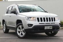 2013 Jeep Compass MK MY14 Sport Silver 6 Speed Sports Automatic Wagon Nailsworth Prospect Area Preview